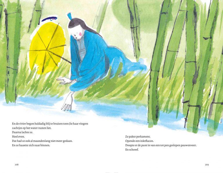Het bamboemeisje Jie