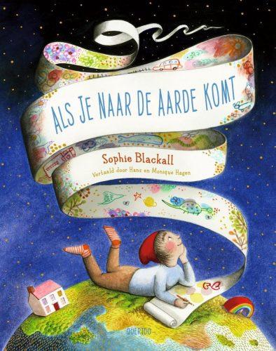 Cover van Als je naar de aarde komt Sophie Blackall